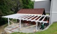 Erweiterung Grillhütte